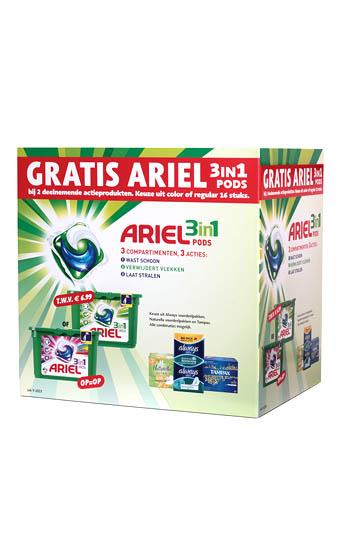 Ariel 3in1 verpakking